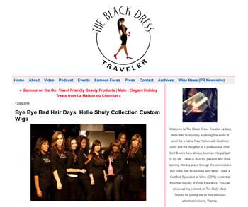 Screen from blackdresstraveler.com